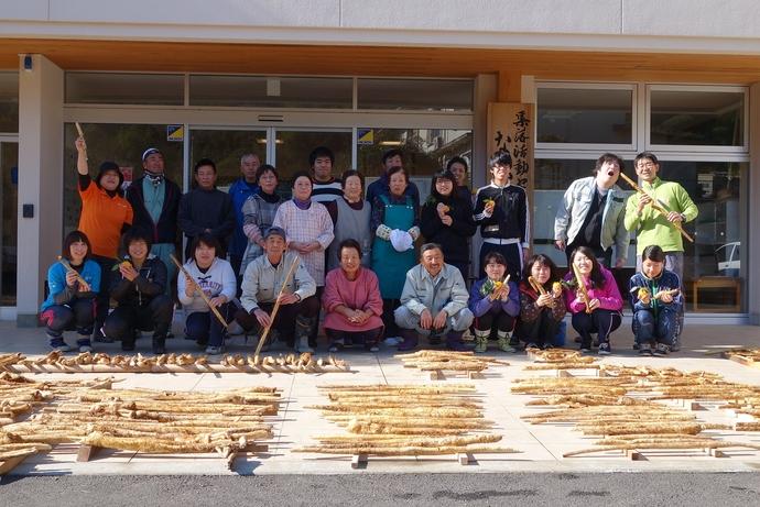 安田町中山地区でジネンジョの収穫体験!|高知大学COC【KICS】
